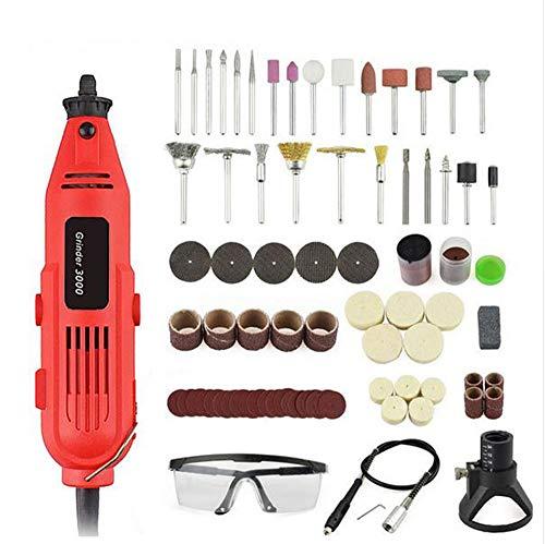 EU/US 220 V 260 Watt Mini Bohrmaschine Variable Speed   Grinder Schleifmaschine Gravur Zubehör Präzisionswerkzeuge,SET2,EU