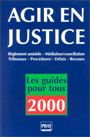Agir en justice, 2000
