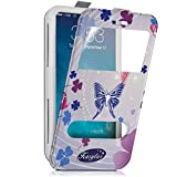 Seluxion - Etui Coque Silicone S-View Motif HF13 Universel S pour Bouygues Telecom Bs 403
