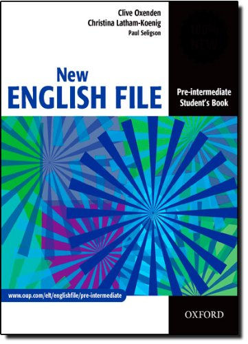 New english file. Pre-Intermediate. Student's book. Per le Scuole superiori: Student's Book Pre-intermediate lev