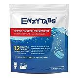 Enzytabs pour fosses septiques Système Traitement, des milliards de Enzyme d'obtenir les bactéries réduisant les mauvaises odeurs et aide à éviter les Sauvegardes