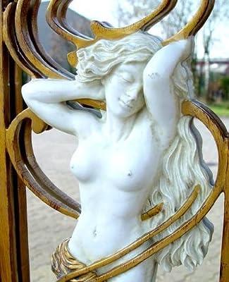 Traumhafter Spiegel Im Jugendstil Art Nouveau Frauenakt Exklusiv