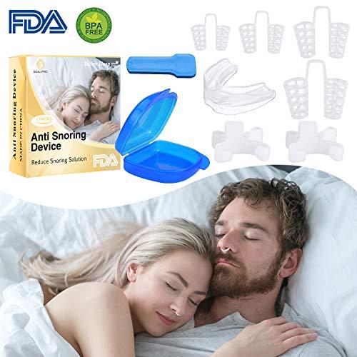 Dilatador Nasal Antironquidos Ferula Dental Anti Ronquidos