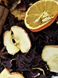 Aromatherapy All Natural Autumn Winter Pot Pourri | with dried Apple, Hibiscus flowers, Sweet Orange, Cinnamon & Star Anise | warming & comforting spice citrus fragrance | infused with pure essential oils of Sweet Orange & Cinnamon | envelopes the room in a festive autumn winter spice fragrance | Festively fragrant - creates a festive, cosy, welcoming atmosphere.