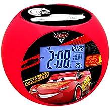 Cars - Reloj despertador con proyector (Lexibook RL975DC)