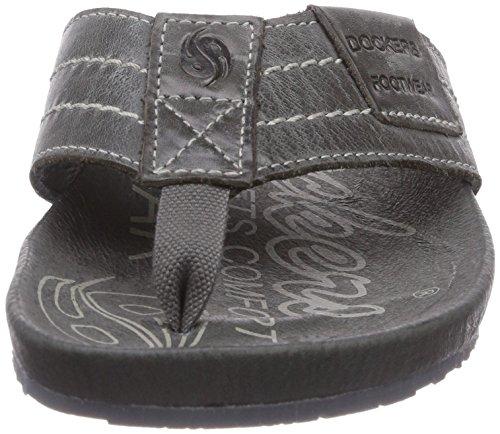 Dockers by Gerli 36br201, Chaussures de Claquettes mixte adulte Noir - Noir