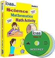 Idaa Class 8-Combo (Mathematics, Science & Maths Activity) CBSE