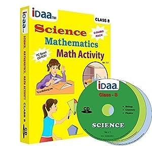 Idaa Class 8-Combo (Mathematics, Science & Maths Activity) CBSE (CD)
