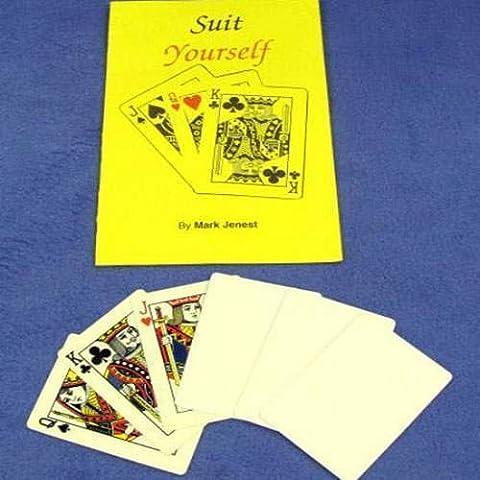 Suit Yourself - Mark Jenest -Karten Tricks - Zaubertricks und Magie