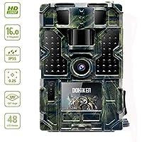 """Dohiker Caméra de Chasse 16MP 1080P HD Étanche 48Pcs IR LED Vision Nocturne Infrarouge Jusqu'à 65FT/20m 2.0"""" LCD 120°Grand Angle pour Sécurité à Domicile, Agricole antivol etc"""