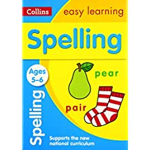 Spelling Ages 5-6 (Collins Easy Learning)