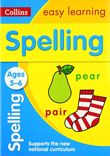 Spelling Ages 5-6: New Edition (Collins Easy Learning KS1) por Collins Easy Learning