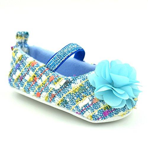 leap frog  Flower Mary Jane, Baby Mädchen Lauflernschuhe Blau