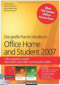Office Home and Student 2007 (Handbuch inkl. CD-ROM)