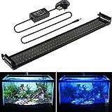 MAINLICHT Aquarium Light for 70cm-90cm Fish Tank Bright Fish Plant Bracket Lighting