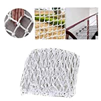 Safety Net Kids Protective Safety Protection Outdoor White Protective Net Safe Net, Kids Protective Netting Decor Net Protection Fence Climbing Woven Rope Truck Cargo Trailer Netting Net Mesh Nets,for