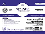 Scanner CMA Inter Group-II (2016 Syllabus) Paper-10 Cost & Management Accounting and Financial Management