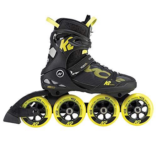 K2 VO2 S 100 PRO Herren Inline Skates 30D0130 Black/Yellow Gr. 42.5 (US 9.5)