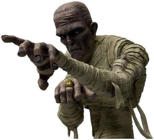 étoile des Images Universal Monsters 22,9 cm Momie Figure Figure Figure | Facile à Nettoyer Surface