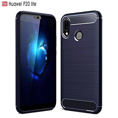 CEDO Rugged Armor TPU Military Grade Shock Proof Back Cover Case for Huawei Honor P20 Lite