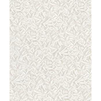 Vlies Tapete Marburg Glööckler 52502 Blätter Federn weiß creme metallic