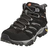 Merrell Damen Moab MID GTX Trekking-& Wanderstiefel, Schwarz (Black), 38 EU