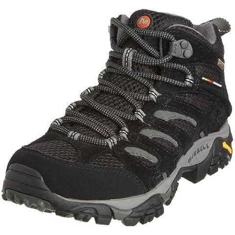 Merrell MOAB MID GTX, Damen Trekking- & Wanderstiefel, Schwarz (BLACK), 40 EU