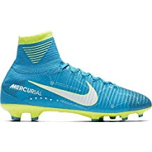 best service a8573 a0b9a Amazon.it: nike mercurial superfly v - Blu