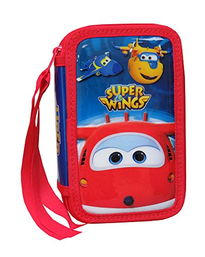 SUPER WINGS® Estuche Plumier 3 Pisos