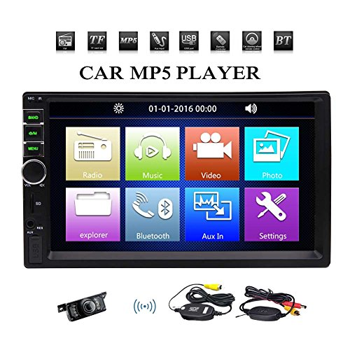 EinCar MP5 Player Double 2 Din A...