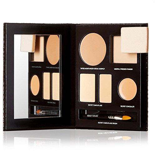 the-flawless-face-book-sand-1x-creme-compact-1x-pressed-powder-w-sponge-1x-secret-camouflage-5pcs