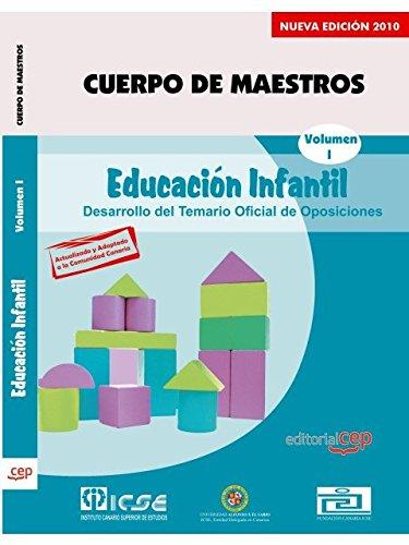 Cuerpo de Maestros. Educación Infantil. Temario Vol. I.  Edición para Canarias (Colección 722) por Sin datos