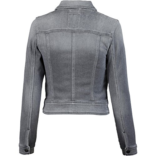 LTB Damen Jacke Ellen Jacket Grau (Thunder Cloud Wash 50657)