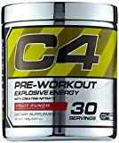 Cellucor C4 Extreme 30 Portionen Fruit Punch, 1er Pack (1 x 195 g)