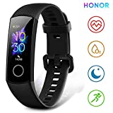 HONOR Band 5 Smartwatch Orologio Fitness Tracker Uomo Donna Pressione Sanguigna Smart Watch Cardiofrequenzimetro da Polso Contapassi Smartband Sportivo Activity Tracker,Nero