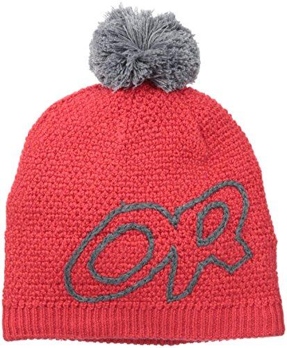 outdoor-research-cappello-rosso-grigio-taglia-unica