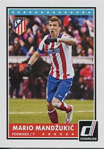 Donruss football 2015 Base Card#26 Mandzukic Mario