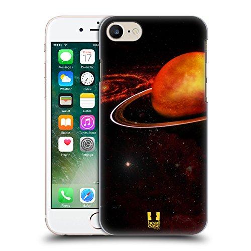 Head Case Designs Porcelaine Texturée Papiers - Croix Étui Coque en Gel molle pour Apple iPhone 7 / iPhone 8 Uranus