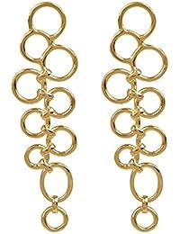 SHAZE Gold-Plated Branwen Earrings For Women