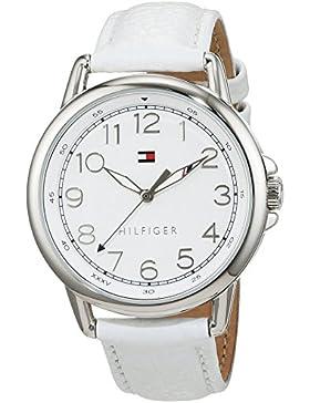 Tommy Hilfiger Damen-Armbanduhr Casual Sport Analog Quarz Leder 1781652