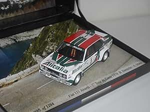 Trofeu - Lma09 - Fiat - 131 - Winner Rallye Tour De Corse 1978 - Échelle 1/43