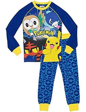 Pokemon Jungen Pokemon Schlafanzug - Slim Fit