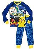 Pokemon - Pigiama a maniche lunga per ragazzi - Pokemon - Vestibilitta Stretta - 9 - 10 Anni