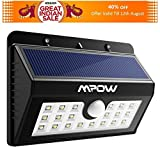 Mpow Solar Lights, 20 LED Super Bright Motion Sensor Security Lights ,Detector Street Lights with 3 Intelligent Modes for Home,Garden,Patio