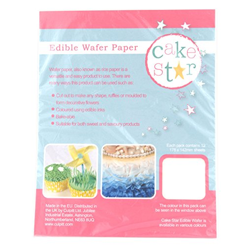 Preisvergleich Produktbild Cake Star Edible Wafer Rice Paper - White