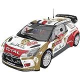 "Scalextric - Citroën DS3 WRC ""Abu Dhabi"", coche slot (Educa-Borrás A10158S300)"