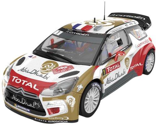 Educa Borrás Scalextric - Citroën DS3 WRC Abu Dhabi, coche slot A10158S300