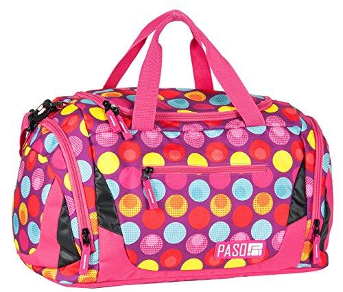 SPORTTASCHE Reisetasche Mädchen Jungen Damen Sauna Tasche Sport Schul Weekender (Modell 4)
