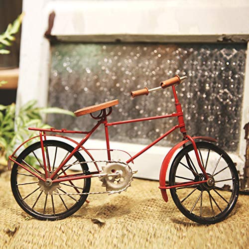 painting LIUYU Retro-Estilo de la Mano-Bicicleta Adornos/Iron Model/Nostalgic Ornaments-C,Segundo