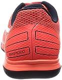 Puma evoSPEED Sala 3.4, Unisex-Erwachsene Futsalschuhe, Orange (lava blast-white-total eclipse 02), 38 EU (5 Erwachsene UK) - 2